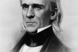 James Knox Polk, eleventh President of the United States who served from 1845 to 1849. (Photo by National Archive/Newsmakers)