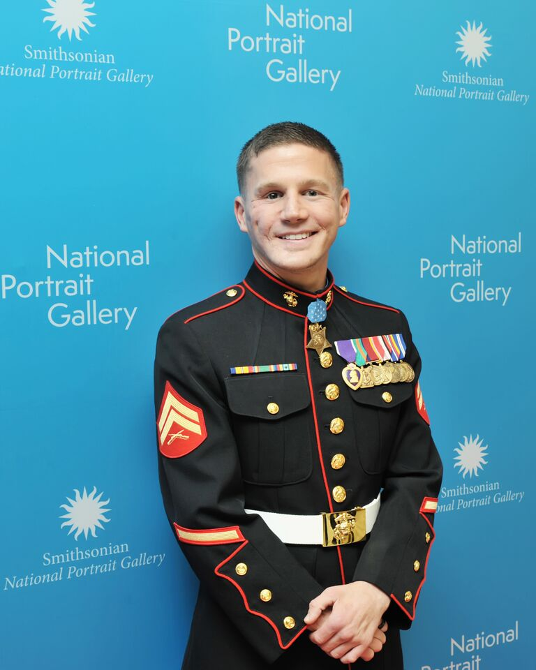 Medal of Honor recipient joins celebrity honorees at American Portrait Gala