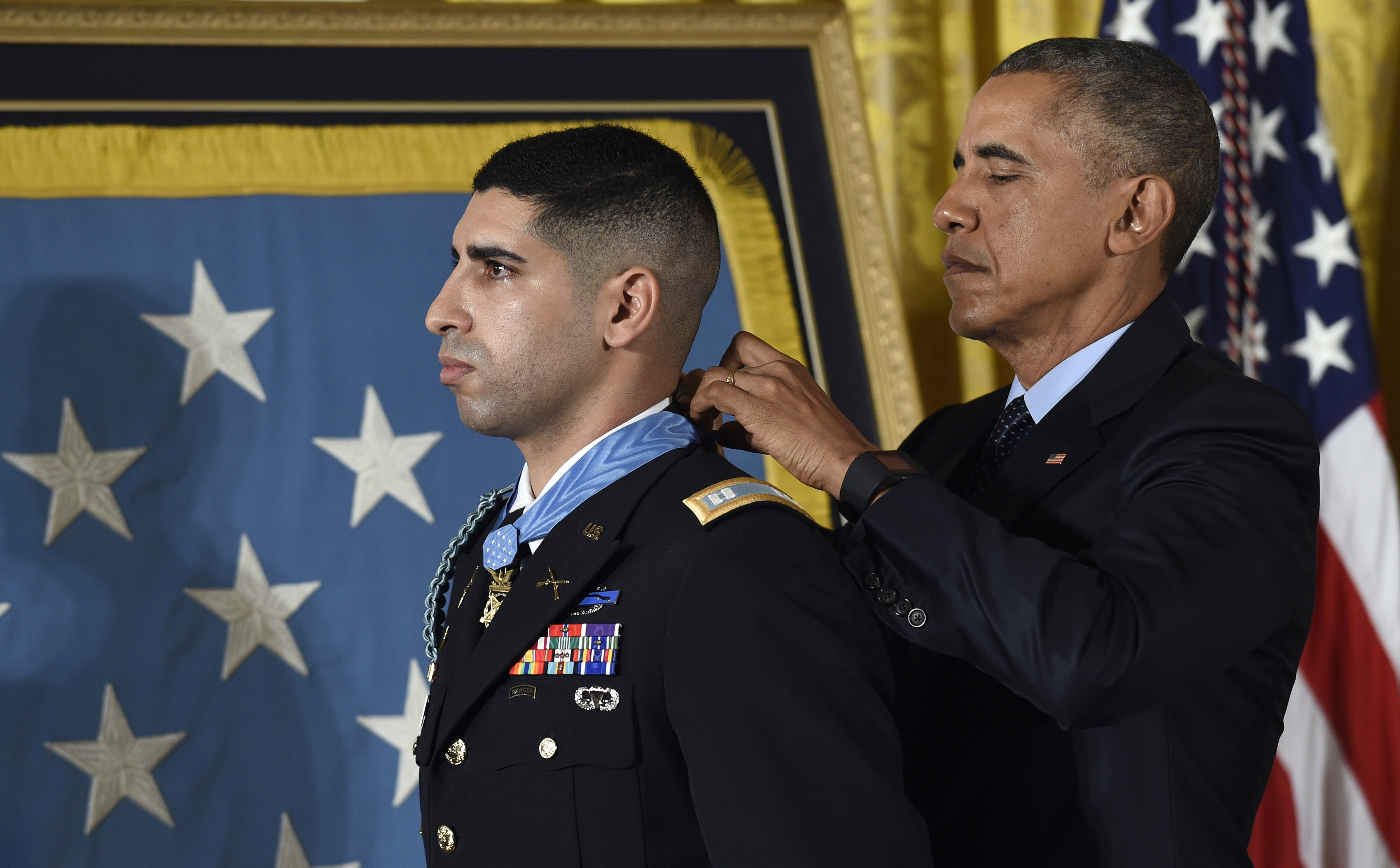 Md. Medal of Honor recipient took stage at DNC