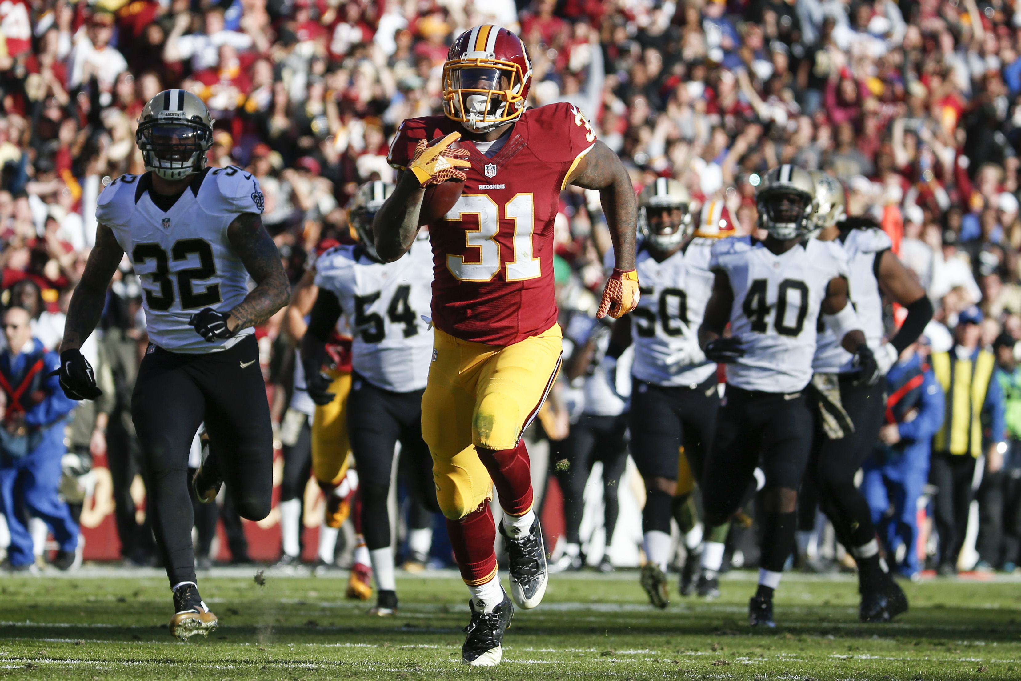Column: This Redskins win is a signal of change