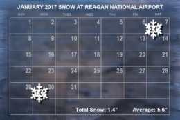 January 2017 snow. (WTOP/Dave Dildine)