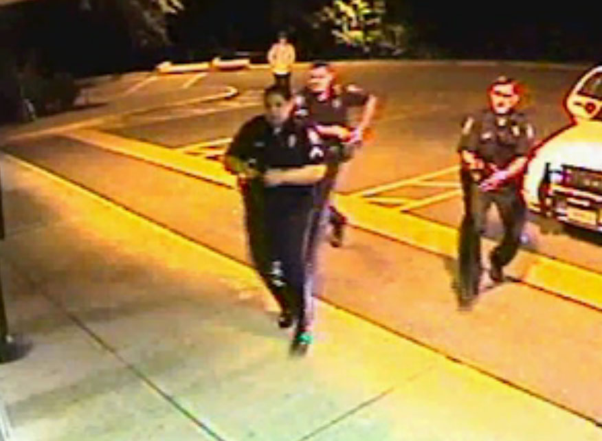 Videos show police tasing restrained Va. man repeatedly before his death