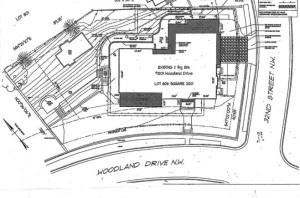 Sketch of the lot provided in the online listing. (Courtesy Washington Fine Properties, LLC)