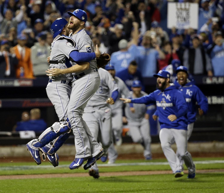 Kansas City Royals win World Series (Photos)