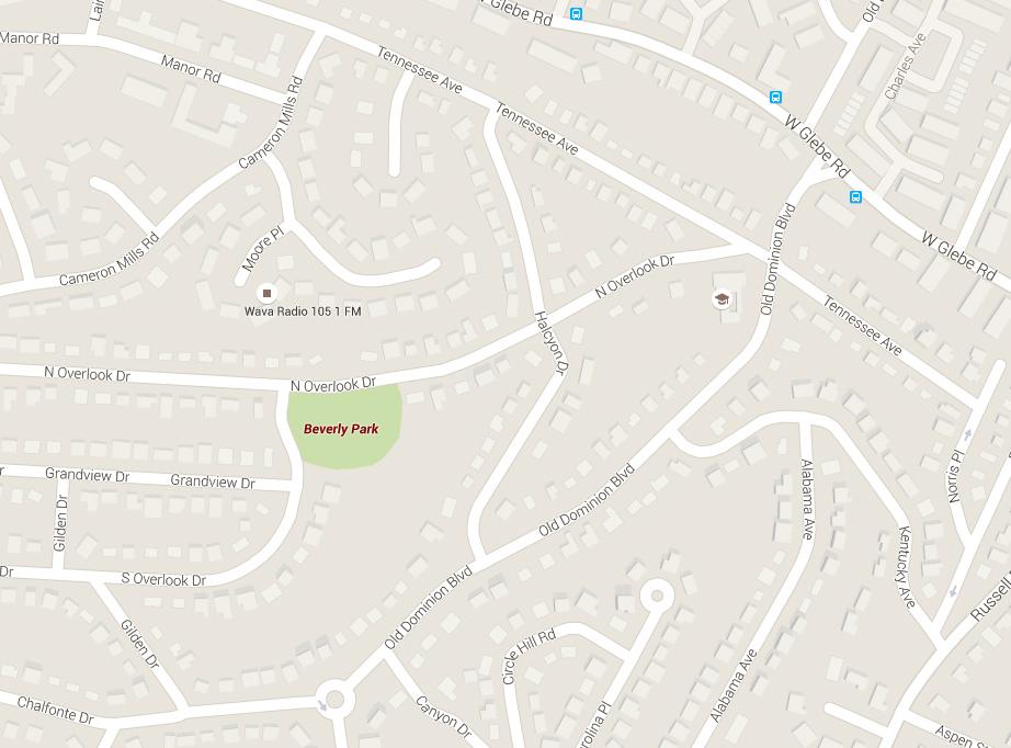Man found dead in Alexandria park