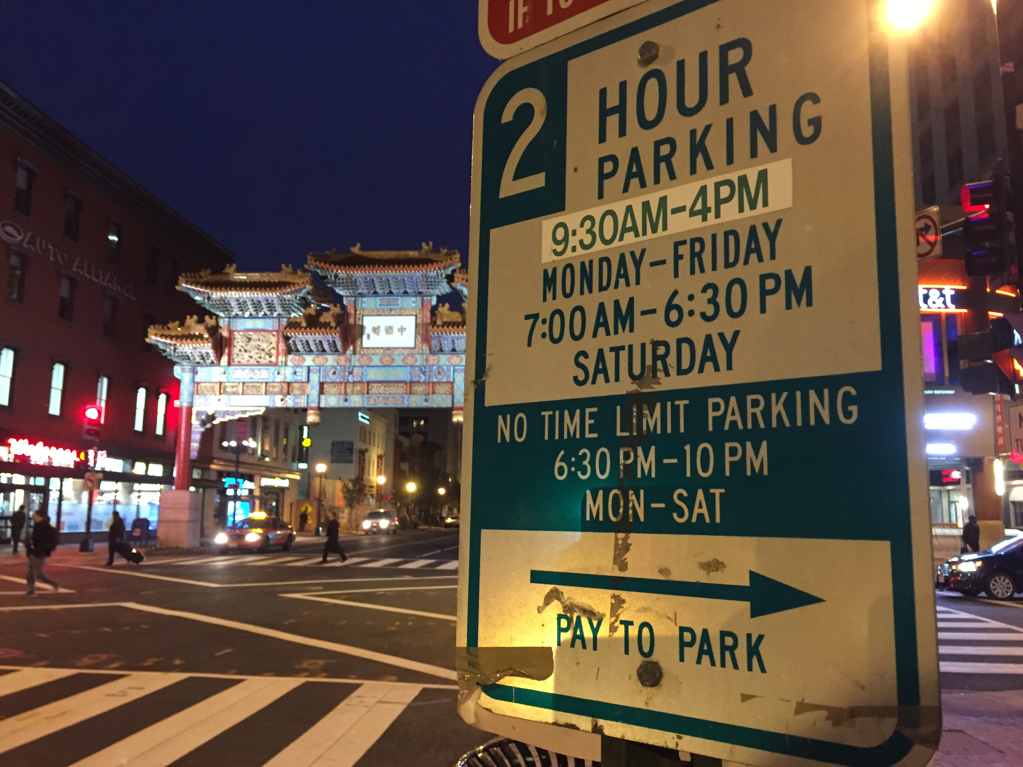 'Surge parking' in downtown D.C. opposed by residents, study says