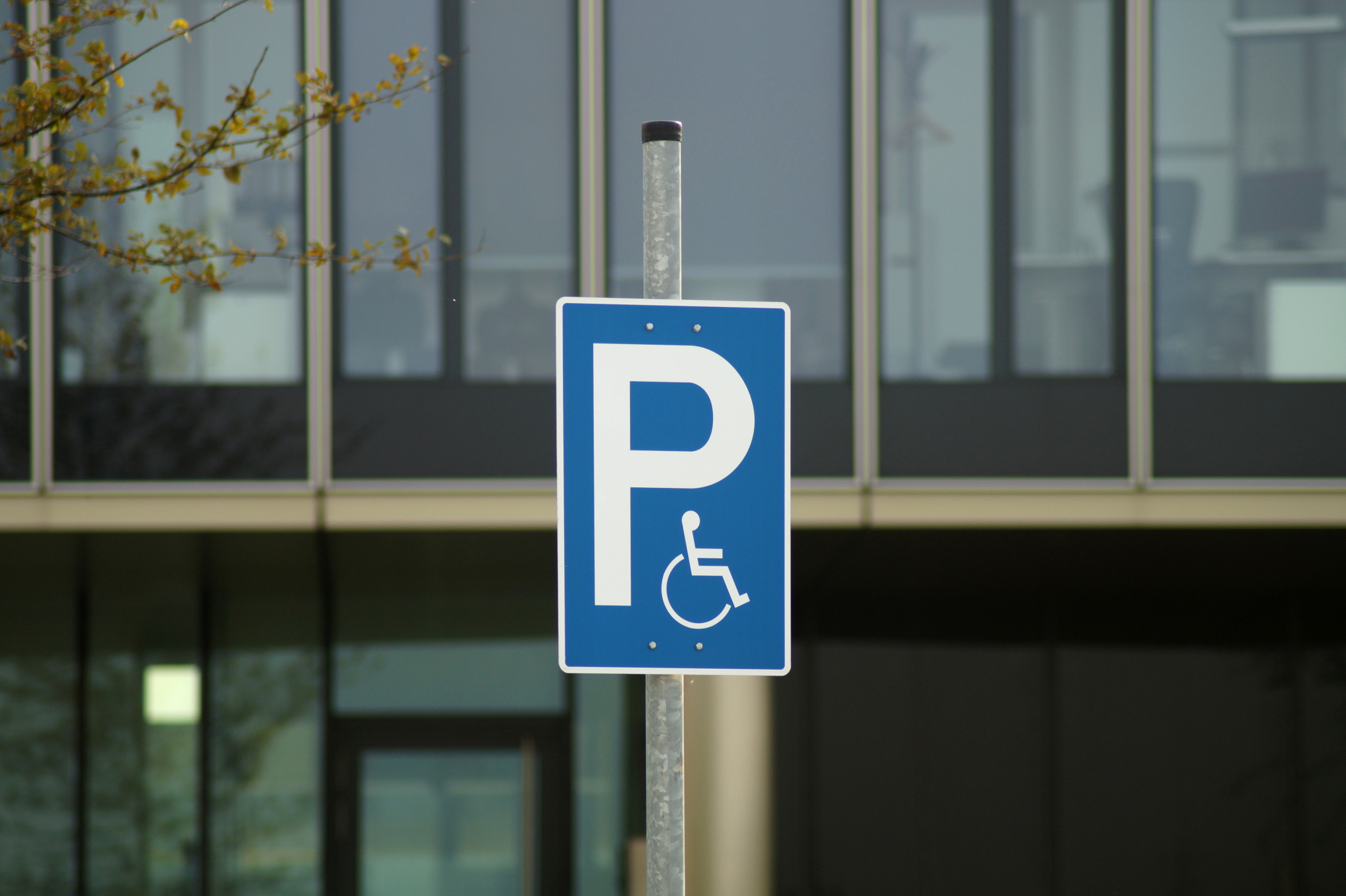 Police: Don't park in spaces marked for people with disabilities