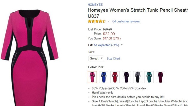 Do not adjust your set: TV meteorologists buying up the same dress