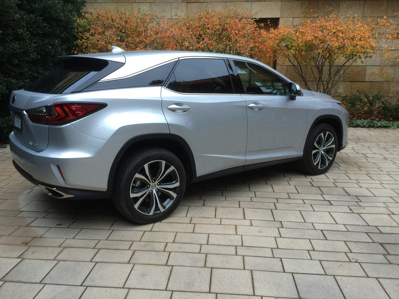 If you're looking for a luxury crossover, the new RX should be on your list to see and drive. (WTOP/Mike Parris)