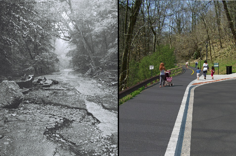 D.C. road to be converted to multi-use trail