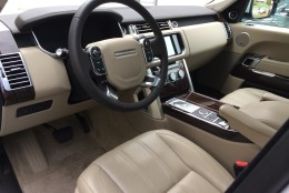 The interior is decked out with Oxford heated and ventilated front seats and various power adjustments to help you get comfortable. The seats are really good for many body types. (WTOP/Mike Parris)