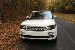 The Range Rover has the right amount of luxury and coolness to appeal to many people. It now offers a standard supercharged V6 with decent performance and improved fuel economy without really sacrificing what a Range Rover should be, except for fewer visits to the gas station. (WTOP/Mike Parris)