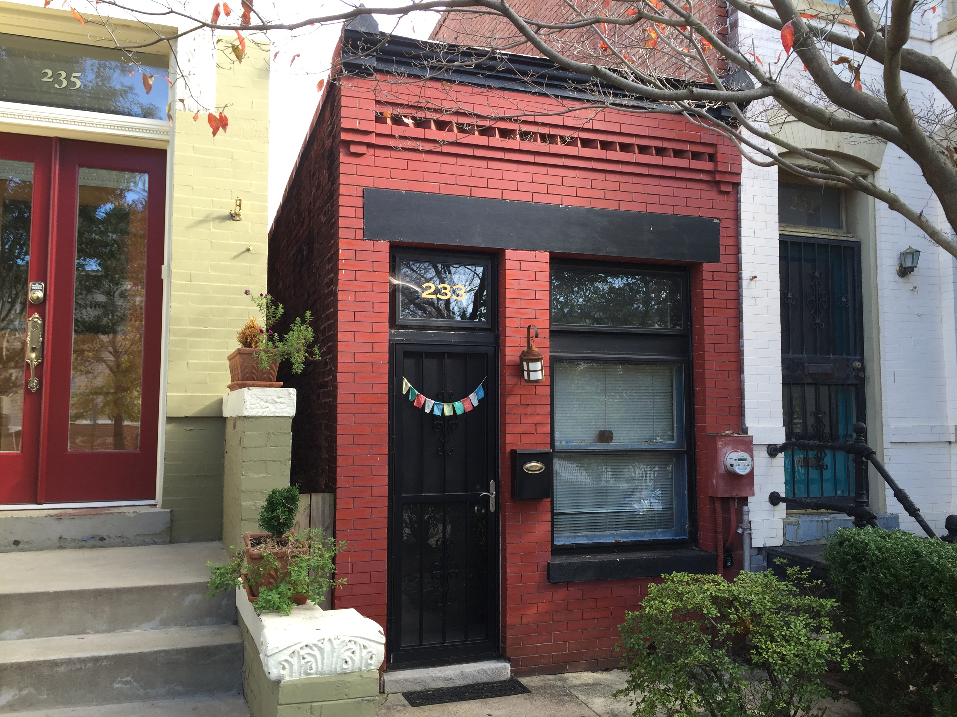 Smallest house in D C available for rent