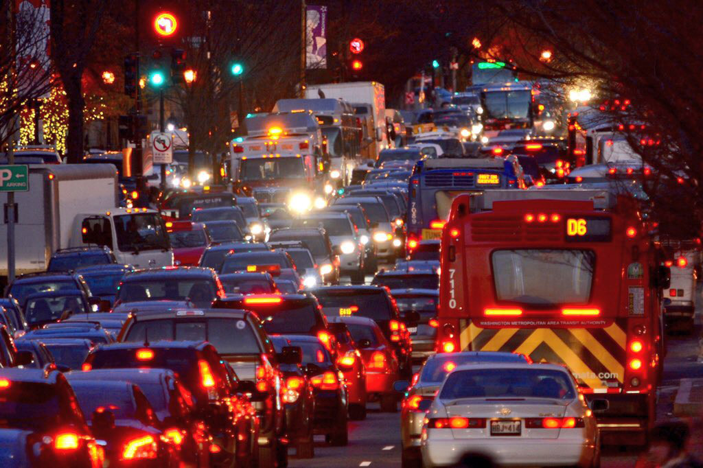 Endless commute: Studies show DC-area drivers spending slightly less time behind wheel