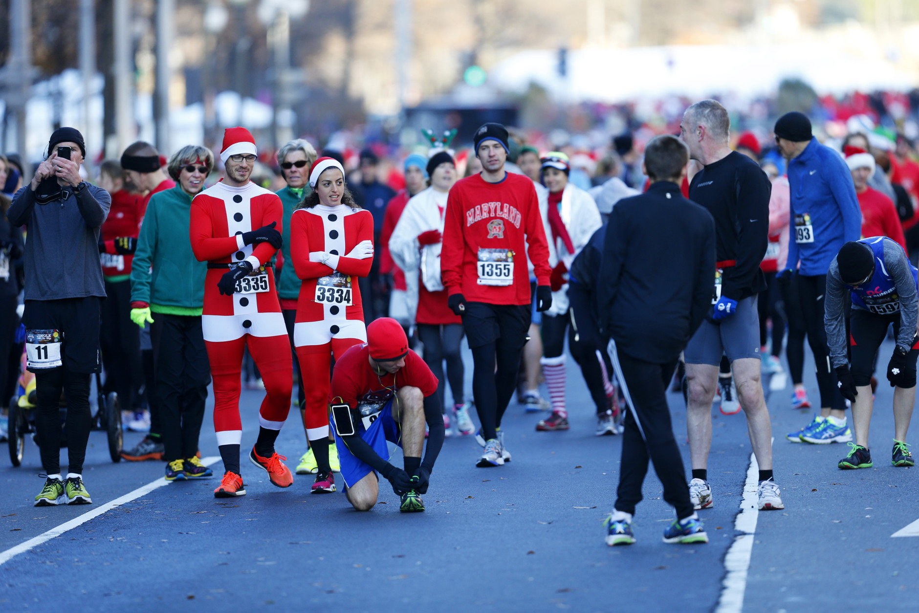 Jingle All The Way 5K Brings Holiday Cheer Street Closures To DC On Sunday