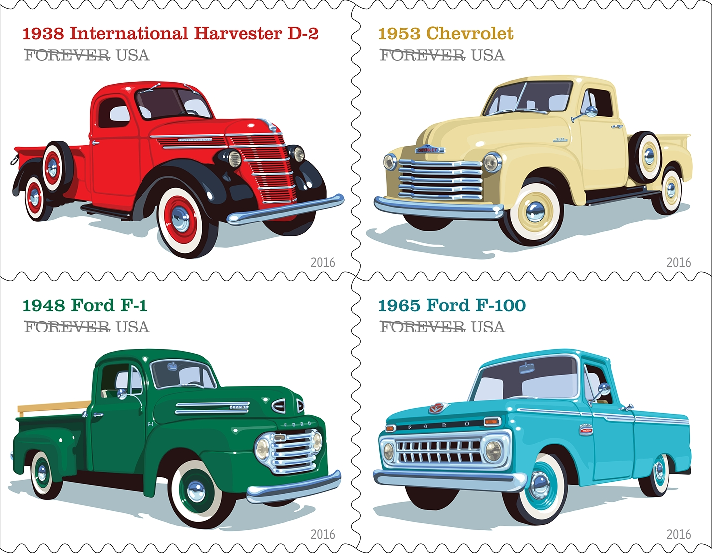 Star Trek, Sarah Vaughan, soda fountains: The new stamps for 2016
