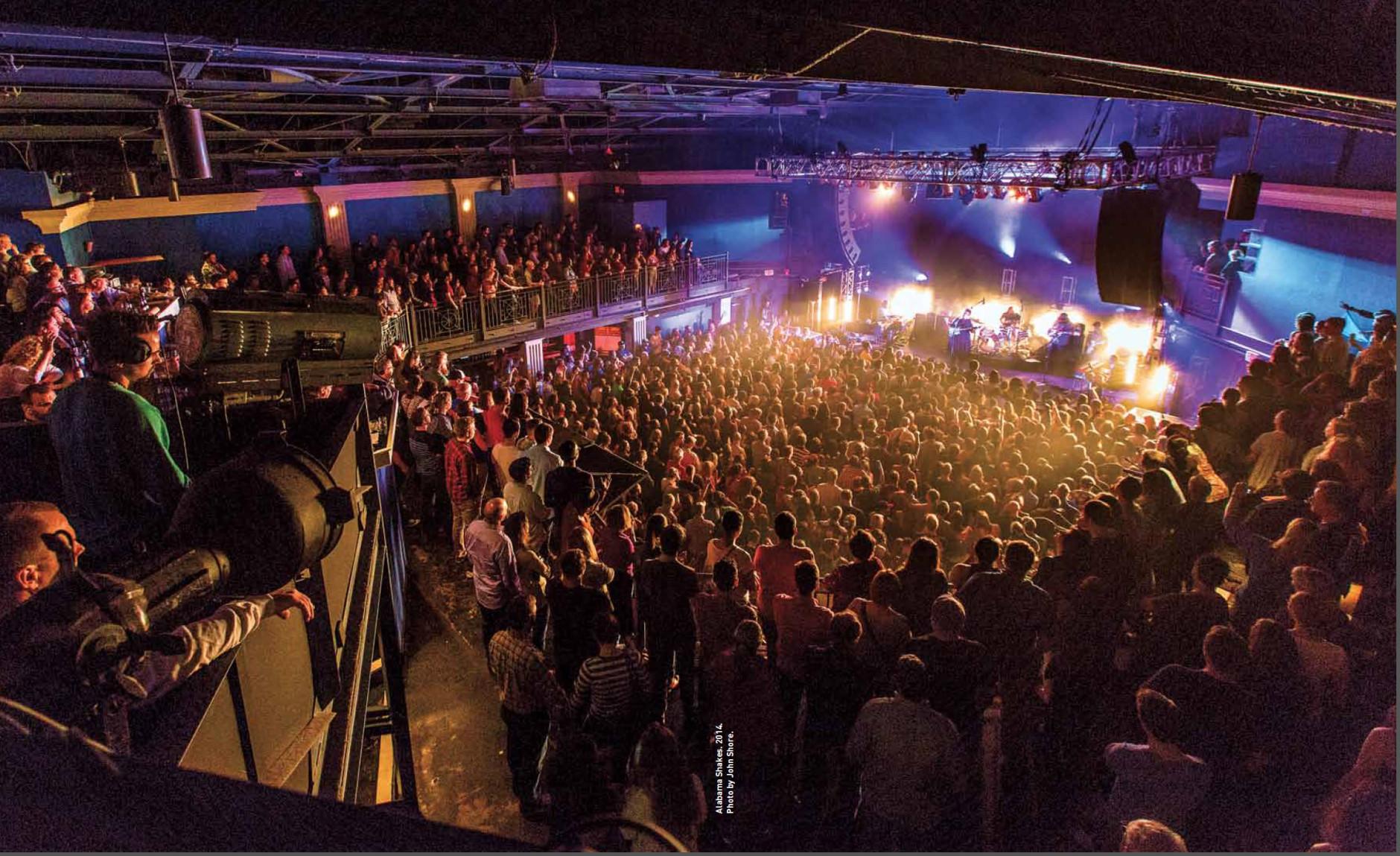 Alabama Shakes performs at the new club on 830 V Street. (Courtesy John Shore)