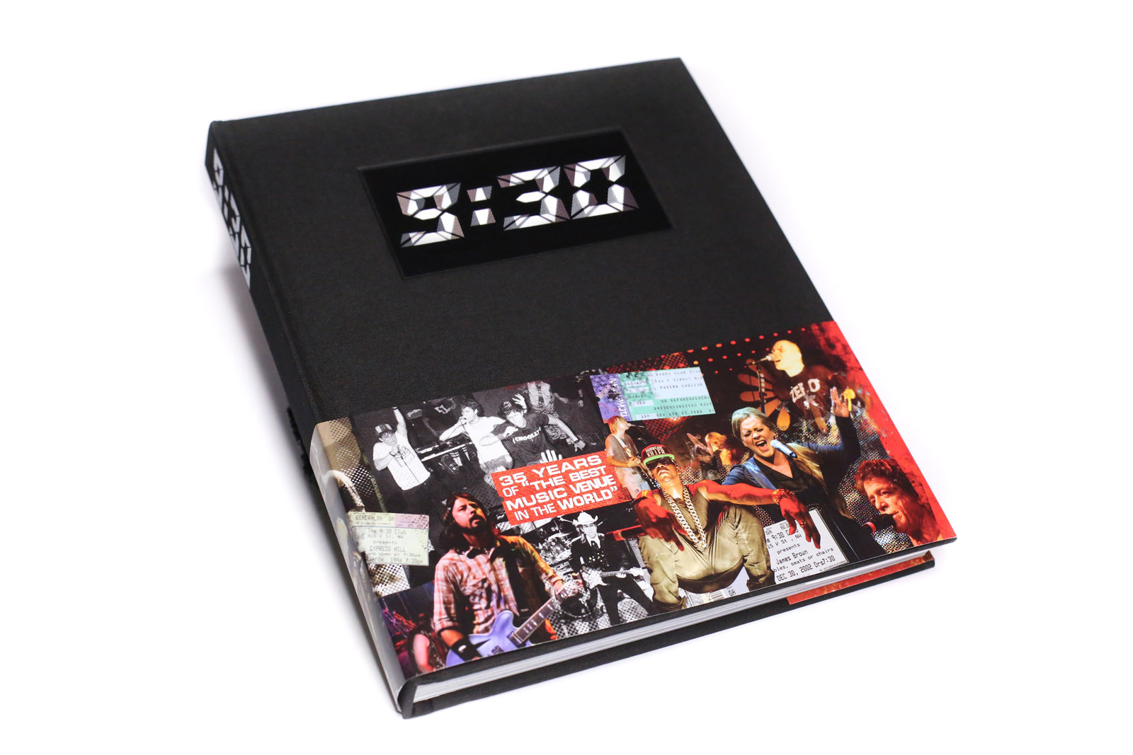The front of the new book about the 9:30 Club's history. Copies are now available for pre-order. (Courtesy 9:30 Club)