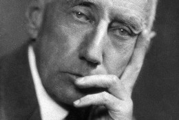 This is an undated photo of Norwegian explorer Roald Amundsen, who discovered the South Pole in 1911.  (AP Photo)