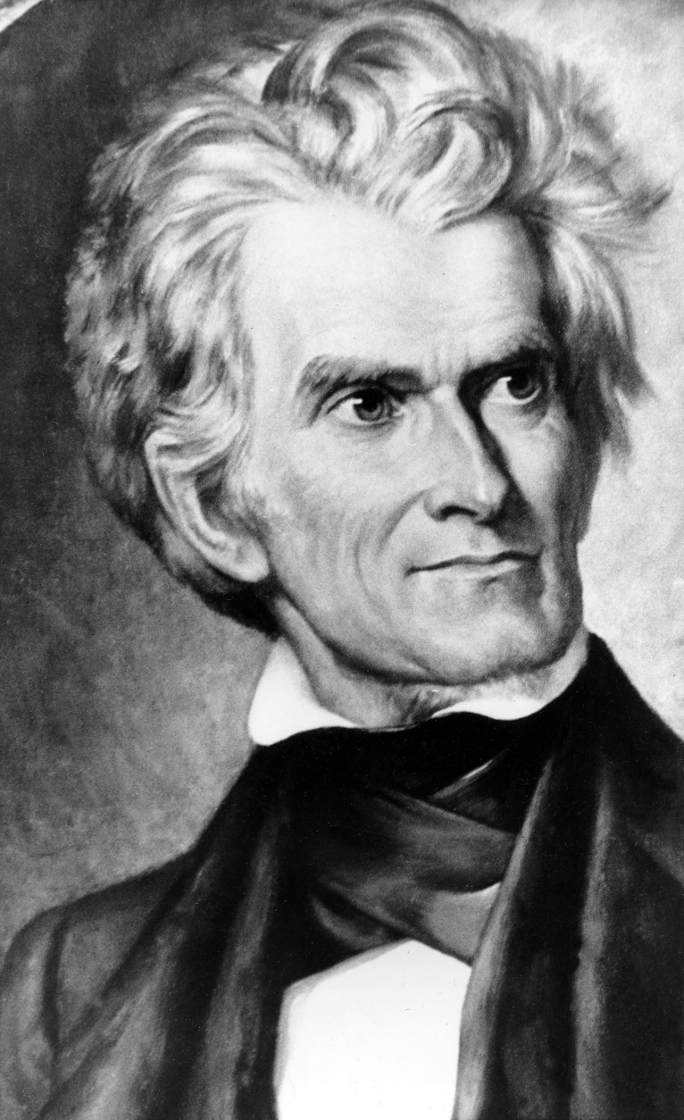 John C. Calhoun, Vice President of the United States under President John Quincy Adams in 1824, and reelected in 1828 under President Andrew Jackson, is seen in this undated picture. (AP Photo)