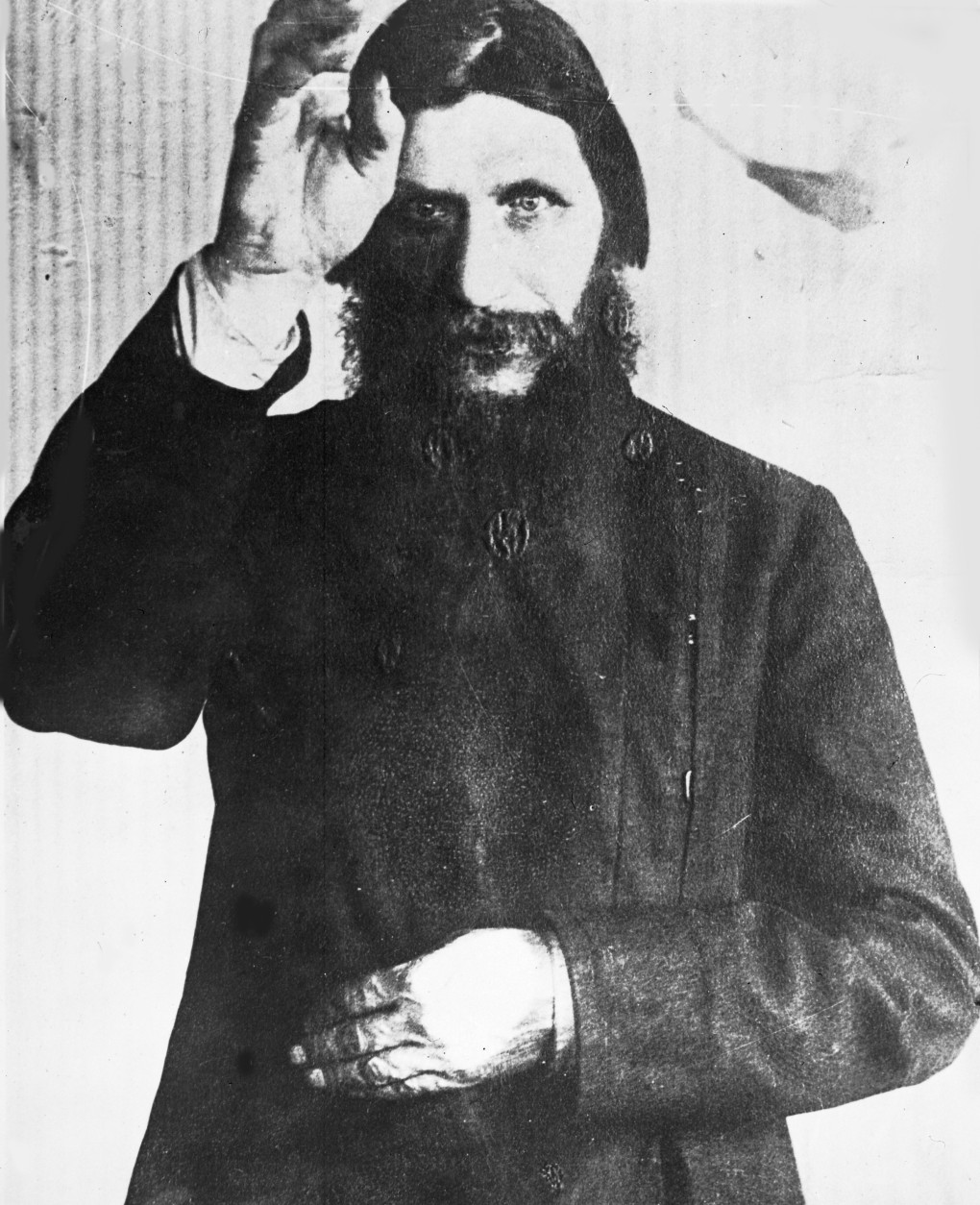 Undated photo of Rasputin, the self-styled monk who was killed 1916 by Prince Youssoupoff, because of his evil influence of the Russian Royal Family. (AP Photo)