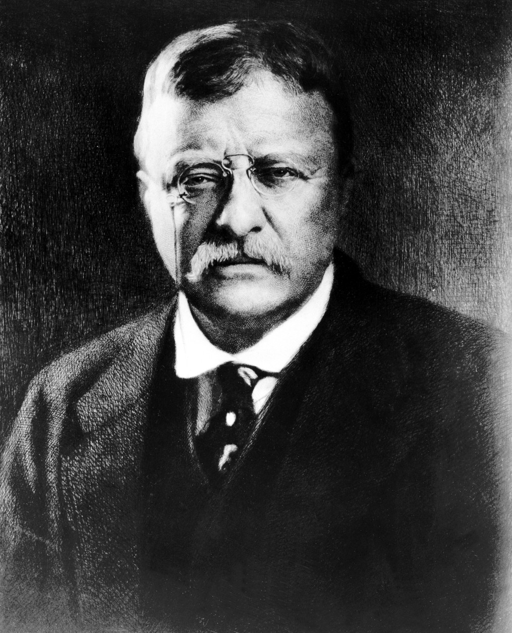 File - Theodore Roosevelt, the 26th president of the United States, is seen in this undated file photo. President Barack Obama won the 2009 Nobel Peace Prize Friday Oct. 9, 2009. The stunning choice made Obama the third sitting U.S. president to win the Nobel Peace Prize. Theodore Roosevelt won the award in 1906 and Woodrow Wilson won in 1919.   (AP Photo, File)