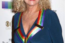2015 Kennedy Center Honoree Carole King attends the 38th Annual Kennedy Center Honors at The Kennedy Center Hall of States on Sunday, Dec. 6, 2015, in Washington. (Photo by Greg Allen/Invision/AP)