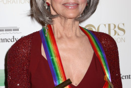 2015 Kennedy Center Honoree Rita Moreno attends the 38th Annual Kennedy Center Honors at The Kennedy Center Hall of States on Sunday, Dec. 6, 2015, in Washington. (Photo by Greg Allen/Invision/AP)