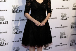 Television journalist Lesley Stahl attends the New York City Ballet 2014 Spring Gala on Thursday, May 8, 2014, in New York. (Photo by Andy Kropa/Invision/AP)