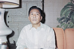 President Ferdinand Marcos poses, Nov. 22, 1965, Manila, Philippines. (AP Photo)