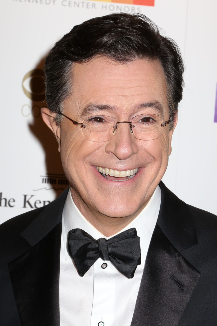Stephen Colbert attends the 38th Annual Kennedy Center Honors at The Kennedy Center Hall of States on Sunday, Dec. 6, 2015, in Washington. (Photo by Greg Allen/Invision/AP)