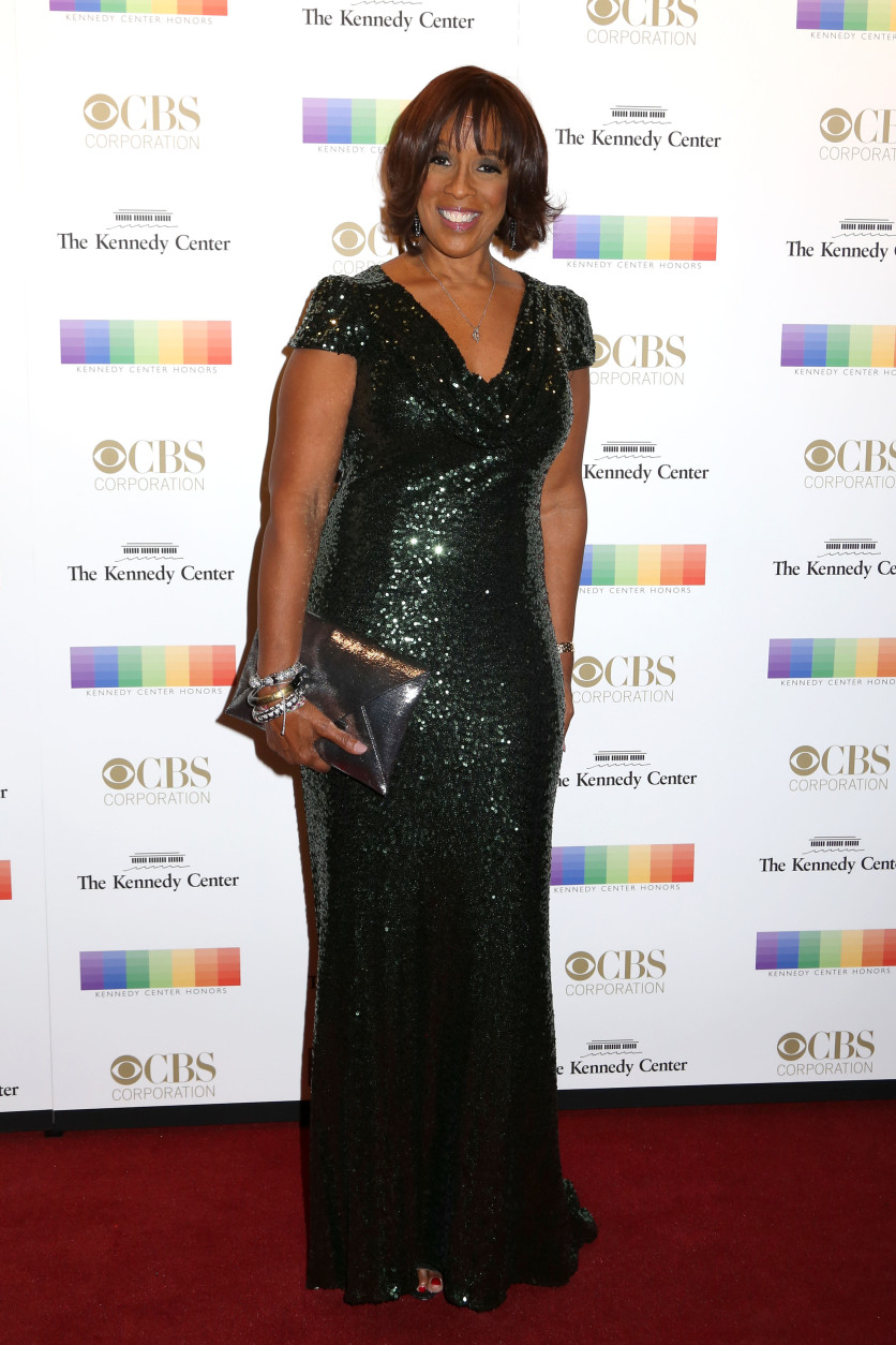 Gayle King attends the 38th Annual Kennedy Center Honors at The Kennedy Center Hall of States on Sunday, Dec. 6, 2015, in Washington. (Photo by Greg Allen/Invision/AP)