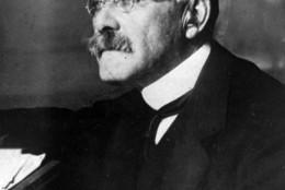 This is an undated photo of British poet Rudyard Kipling.   (AP Photo)