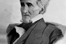 President Andrew Jackson, the 7th president on the U.S. is shown in an undated portarait.  (AP Photo)