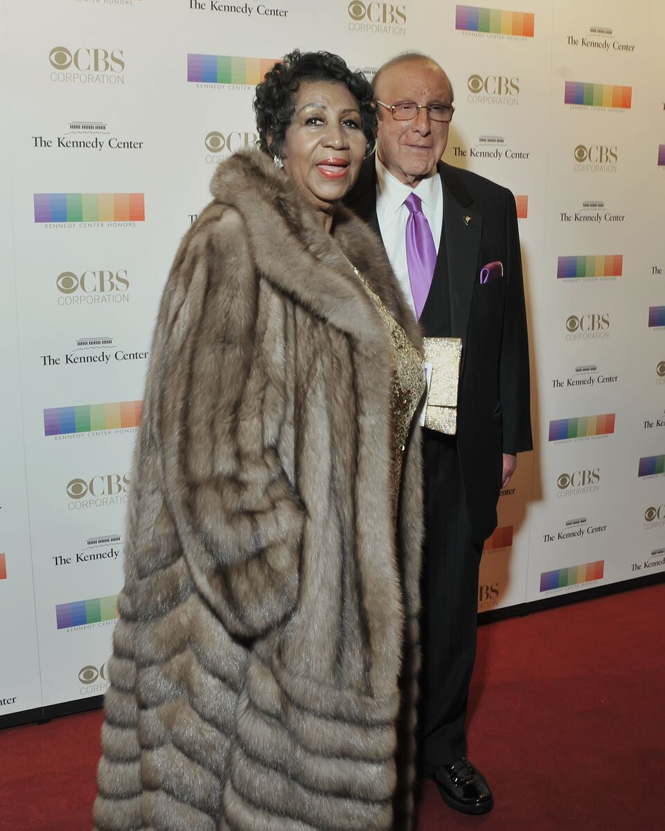 Aretha Franklin and Clive Davis are pictured here on the red carpet. (Courtesy Shannon Finney, www.shannonfinneyphotography.com)