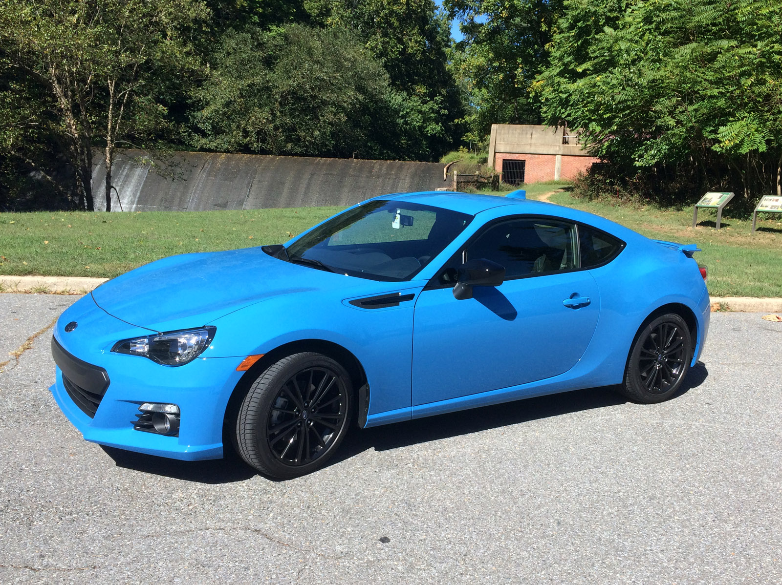 Subaru BRZ Series.HyperBlue: A colorful, small, fun-to-drive car under $30K