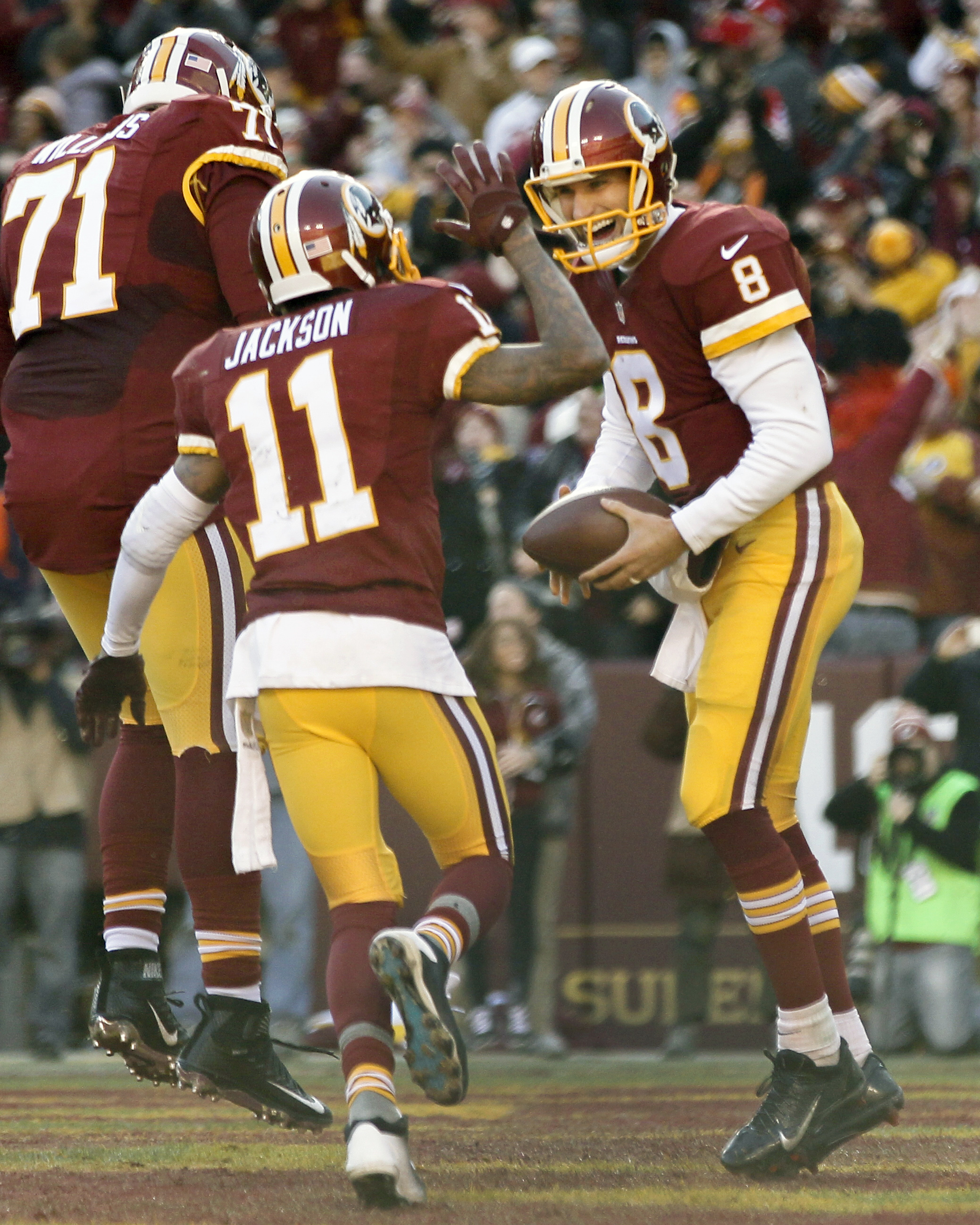 Cousins asked 'You like that?!' After 2 straight wins, Redskins fans do