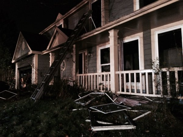 Montgomery Co. fire leaves one hurt, family displaced