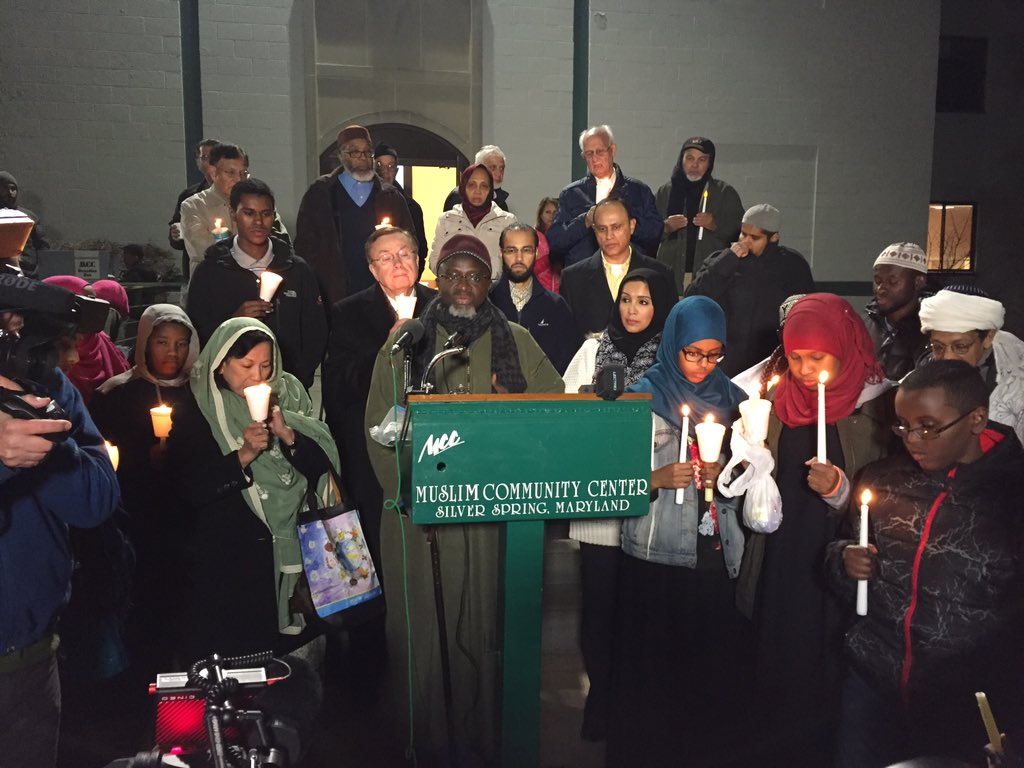 Candlelight vigil in Silver Spring honors San Bernardino victims, calls for peace