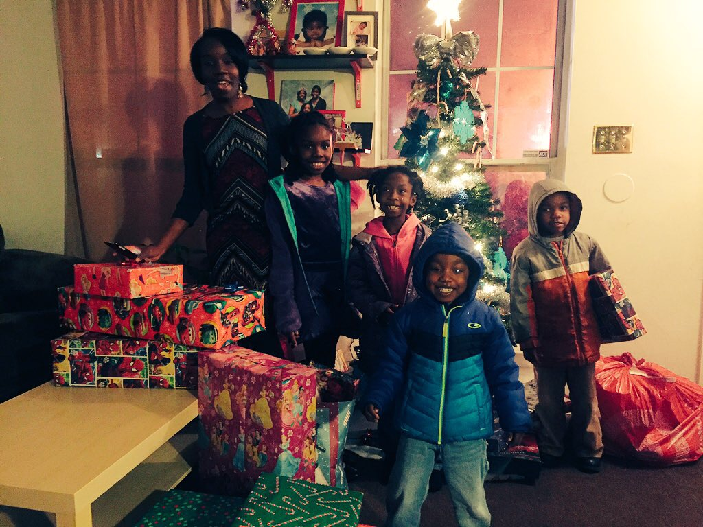 Police call Santa for Md. family in need