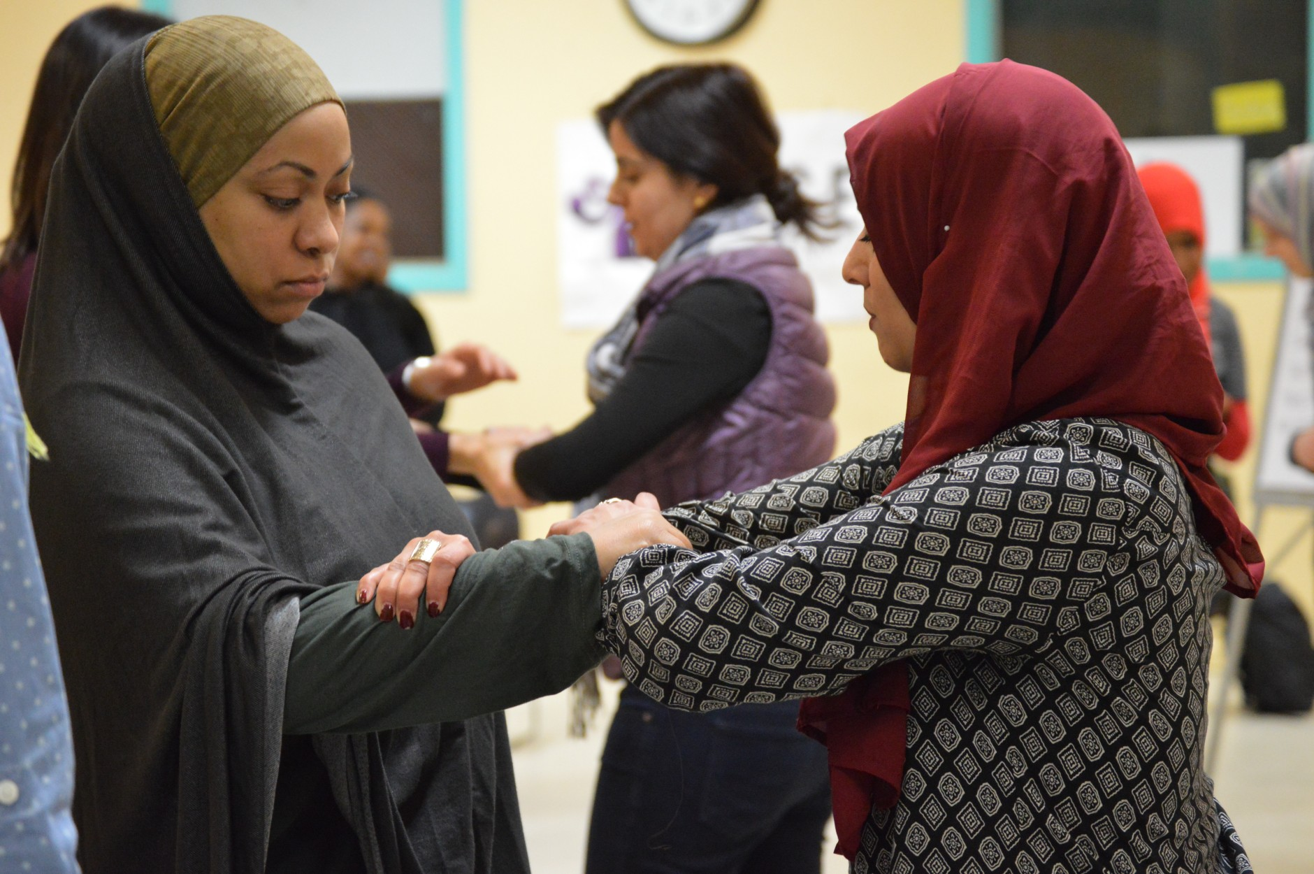 WISE's next three self-defense workshops will be held in Massachusetts, Texas and New York throughout January, according to Abdelhamid. (WTOP/Omama Altaleb)