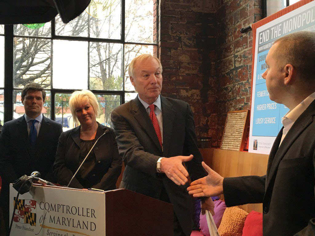 Franchot backs proposed referendum bill on Montgomery Co. liquor monopoly