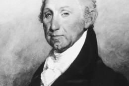 Portrait of 5th United States President James Monroe. (1817-1825) (Courtesy of the National Archives/Newsmakers)