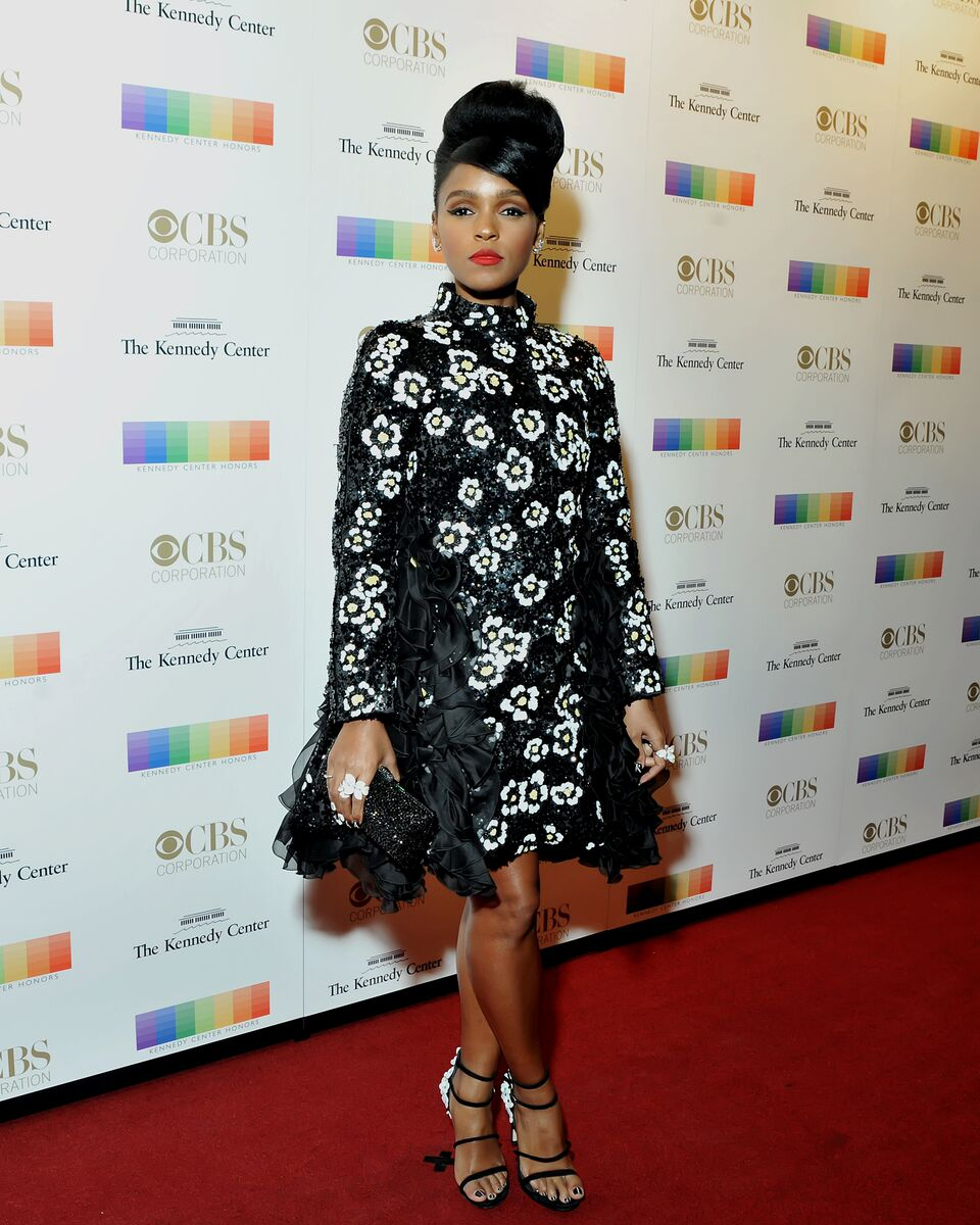 Singer Janelle Monae is seen here at the Kennedy Center Honors. (Courtesy Shannon Finney, www.shannonfinneyphotography.com)