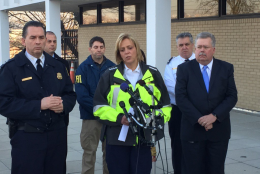 D.C. Police Chief Cathy Lanier announces new searches for Relisha Rudd. (WTOP/Dennis Foley)
