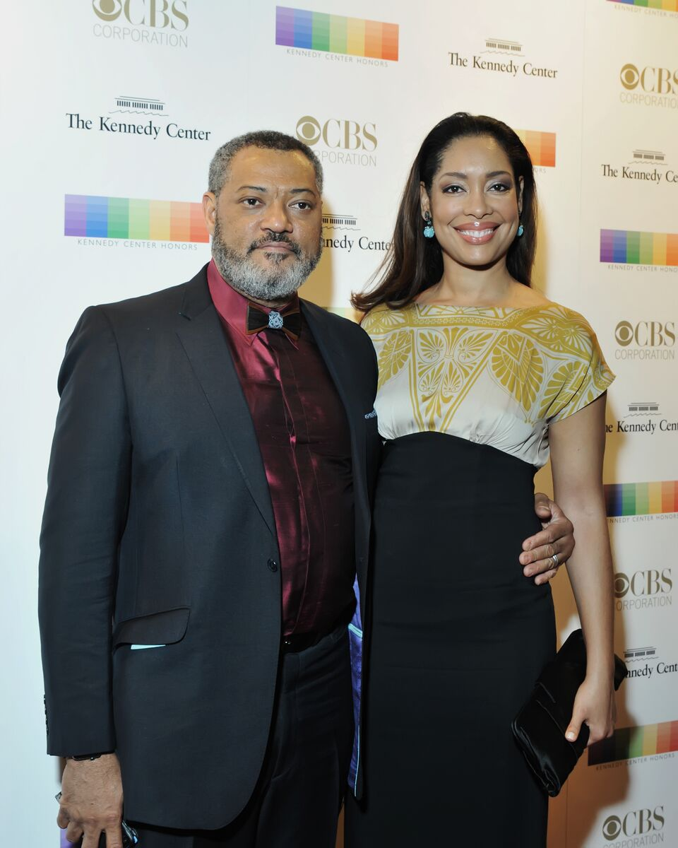 Laurence Fishburne at the 38th annual Kennedy Center Honors with wife Gina Torres. (Courtesy Shannon Finney, www.shannonfinneyphotography.com)