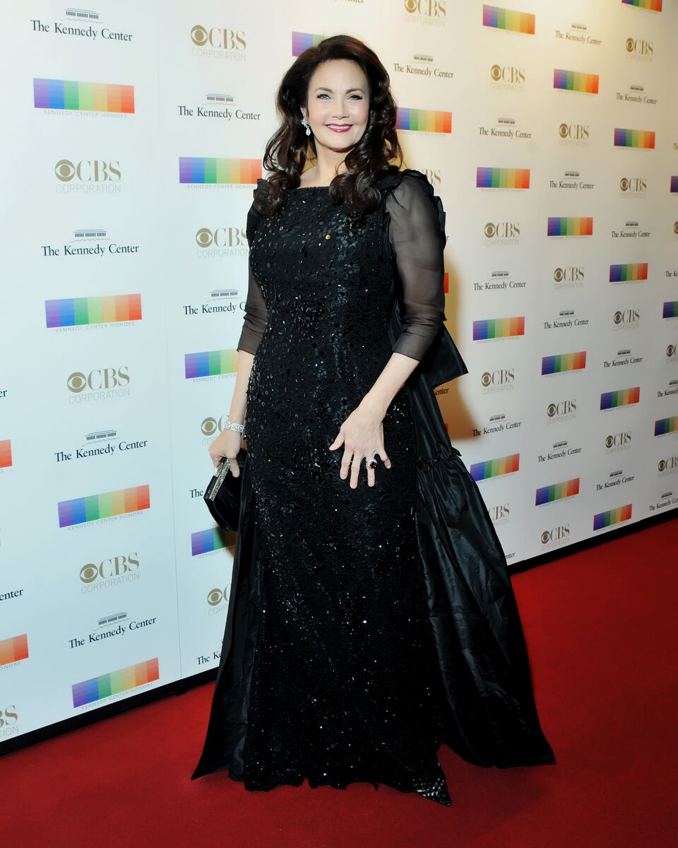 Lynda Carter is seen here at the 38th annual Kennedy Center Honors on Dec. 6, 2015. (Courtesy Shannon Finney, www.shannonfinneyphotography.com)