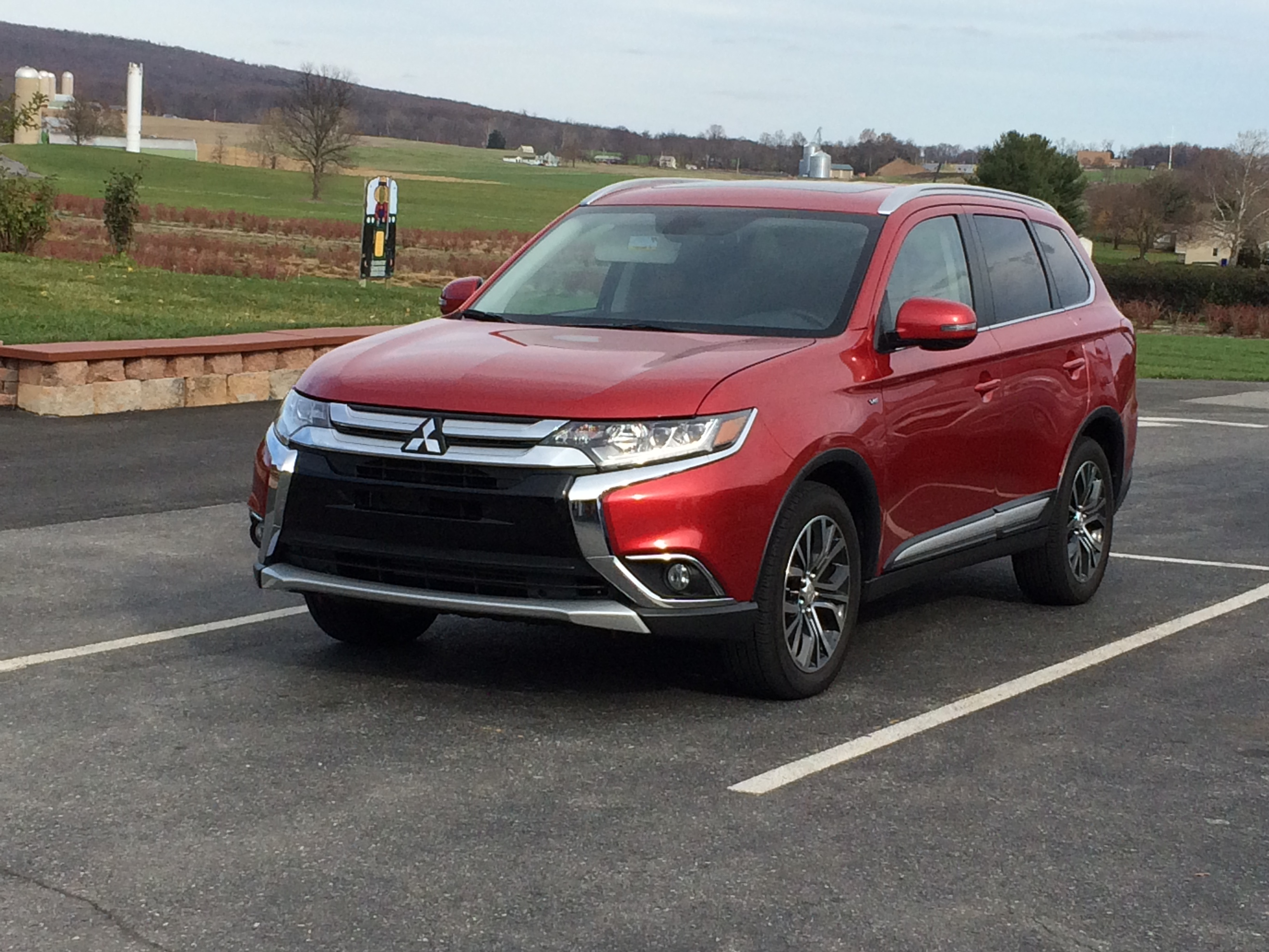 Marked improvement for redesigned 2016 Mitsubishi Outlander GT