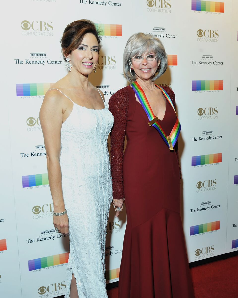 Honoree Rita Moreno is pictured here with her daughter, Fernanda. (Courtesy Shannon Finney, www.shannonfinneyphotography.com)