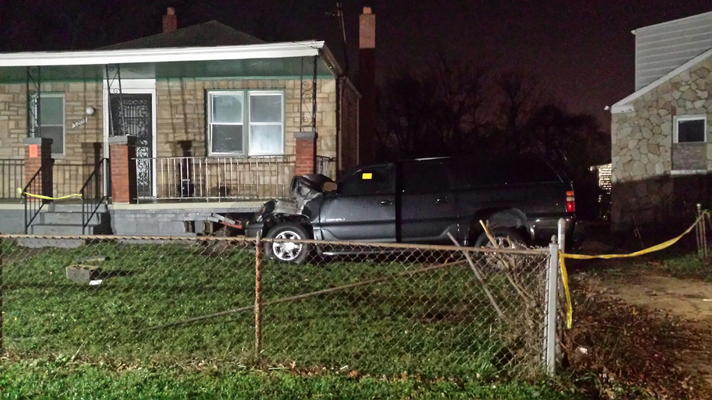 SUV hits house in Prince George's Co.; 2 hurt